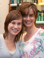 "Megan McNeil and her Mom Suzanne attended the 2010 Hennessey Hair ""Do""."